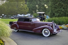 1934 Cadillac Victoria Convertible Coupe Wins 'Best of Show' at 2017 Hilton Head Island Motoring Festival & Concours d'Elegance