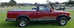 The 1989 Dodge Dakota