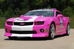 Chevrolet Racing Revs Up Breast Cancer Fight