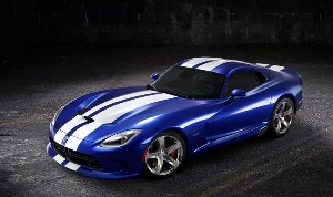 SRT Unveils New 2013 Viper GTS Launch Edition Model in Monterey