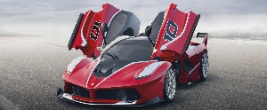 World premiere of the FXX K at the Ferrari Finali Mondiali in Abu Dhabi