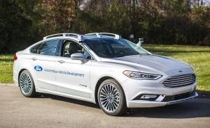 Ford Debuts Next-Generation Fusion Hybrid Autonomous Development Vehicle
