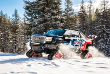 GMC Sierra All Mountain Concept Conquers Uncharted Territory At Vail Mountain