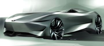 Infiniti Signals Electrified Future With Prototype 10