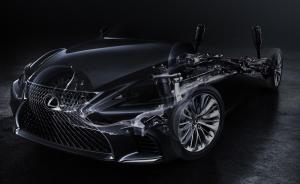 New Lexus LS Flagship Sedan To Make Global Debut At The 2017 NAIAS