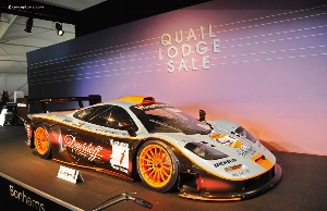 McLaren F1 Supercar Headlines Bonhams' Carmel Auction, Which Realizes in Excess of $13 Million