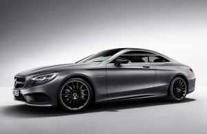 From April 2017: Mercedes-Benz S-Class Coupé 'Night Edition'