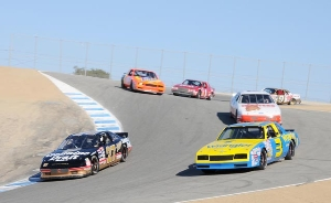 Historic Stock Cars at Rolex Monterey Motorsports Reunion