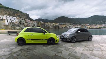 The New Abarth 595 Range Makes Its Debut At The Targa Florio