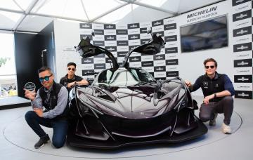 Apollo Intensa Emozione Takes Michelin Supercar Paddock Showstopper Trophy