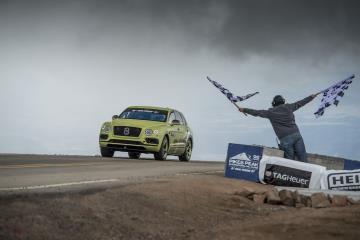 Bentayga Breaks SUV Record At Pikes Peak
