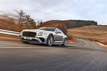 The most dynamic Bentley road car in history