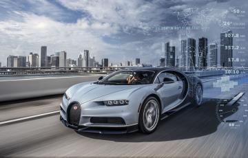 'Connected Car' À La Bugatti