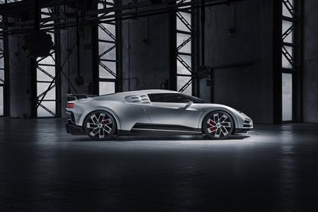 Bugatti Centodieci – First prototype for series development