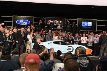 First 2019 Ford GT Heritage Edition Sells for $2.5 Million