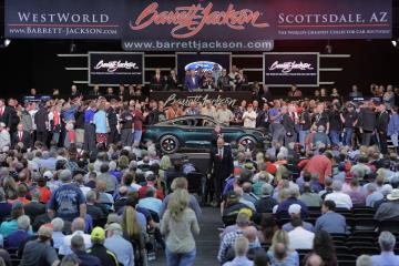 Ford GT And Ford Mustang Bullitt Raises $2.85 Million For Charity At Barrett-Jackson Auction