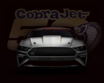 2018 Mustang Cobra Jet Celebrates 50Th Anniversary Of Racing Legend