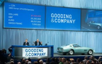 Gooding & Company Achieves More than $49 Million in Two Days at Its Scottsdale Auctions