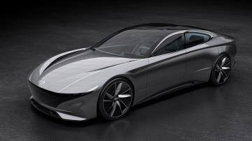 Hyundai's Le Fil Rouge Concept Car Makes North American Debut At Concours d'Elegance Of America In Michigan