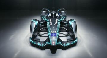 Jaguar Unveil I-Type 3 Concept Livery Ahead Of Rome E-Prix