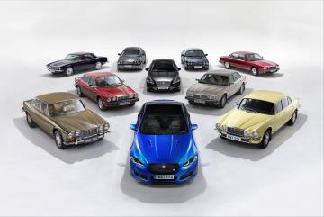 XJ50 Celebrates Five Decades Of Jaguar's Legendary Saloon