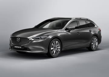 Mazda's Geneva Motor Show Stand Spotlights The New Mazda6, Concept Cars And Next-Gen Engine Technology