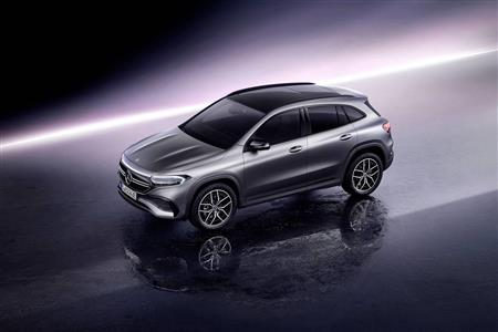 The Mercedes-Benz EQA