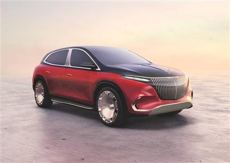 A look forward at the first fully electric Maybach series model