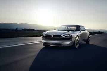Peugeot Unveils Vision Of Future With e-LEGEND Concept