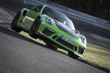New 911 GT3 RS Sets A Lap Time Of 6:56.4 Minutes Through The 'Green Hell'