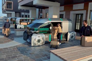 Meet Renault EZ-Pro: A Robo-Vehicle And A Concierge For Last Mile Delivery