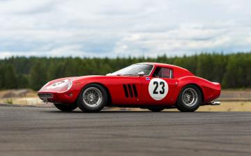 The Most Valuable Car Ever Offered at Auction - 1962 Ferrari 250 GTO