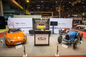Bugatti Type 51A and Porsche 911 2.7 RS Lightweight Take the Spotlight on RM Sotheby's Rétromobile Stand