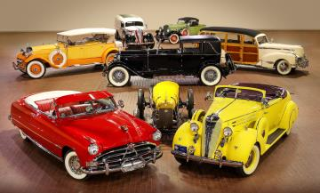 Worldwide Auctioneers selected to sell the Hostetler's Hudson Auto Museum Collection