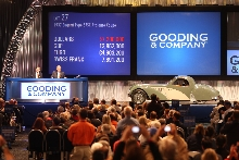 Gooding & Company Announces $31 Million in Sales from First Evening's Consignments