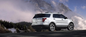 Iconic Ford Explorer Completely Reinvented, Mixing Style, Capability and Technology with Class-Leading Fuel Efficiency