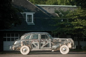 1939 Pontiac Plexiglas Deluxe Six 'Ghost Car'