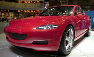 Auction Results and Sales Data for 2001 Mazda RX-8