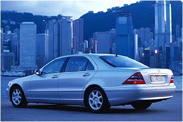 2000 Mercedes Benz S500