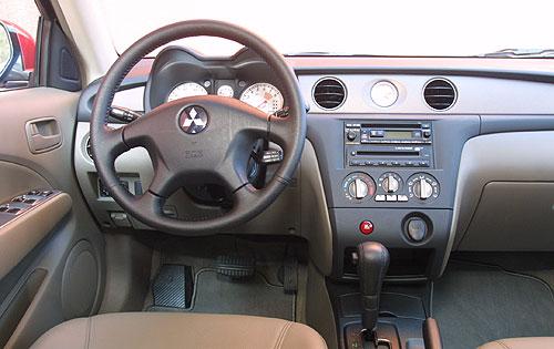 2003 mitsubishi outlander interior pictures for Mitsubishi outlander interior dimensions