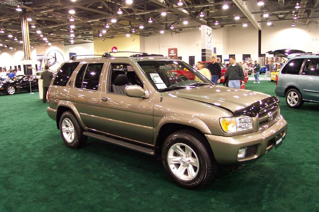 2002 Nissan Pathfinder History Pictures Value Auction Sales Research And News