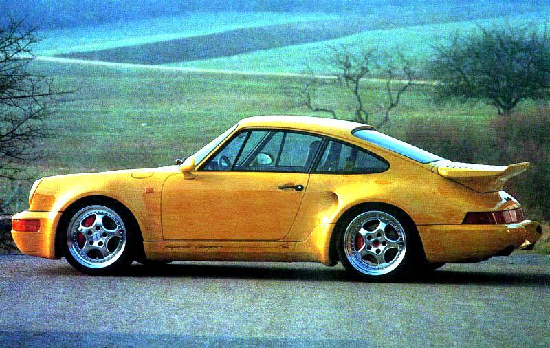 1993 Porsche 911 Turbo S Pictures History Value