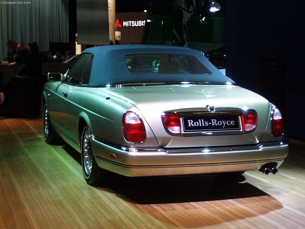 auction results and sales data for 2000 rollsroyce corniche