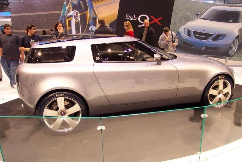 2001 Saab 9x Concept Image Photo 1 Of 17