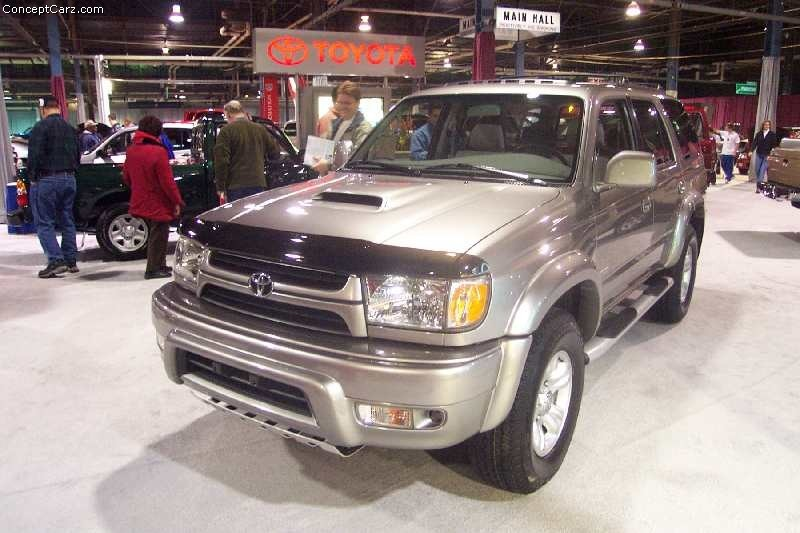 Toyota 2000 4runner >> 1999 Toyota 4Runner History, Pictures, Value, Auction Sales, Research and News