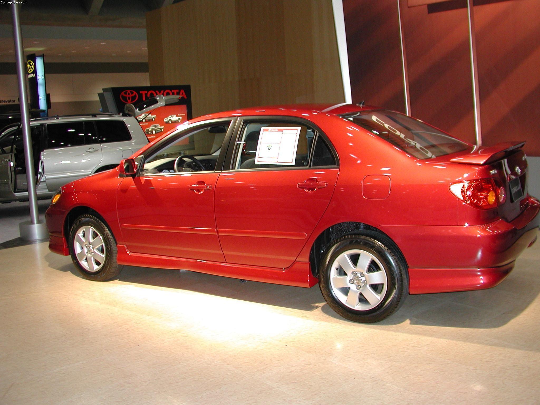 2002 Toyota Corolla Image. https://www.conceptcarz.com ...