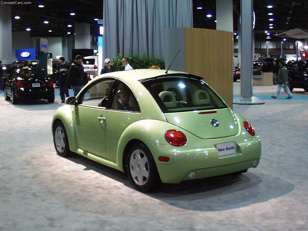Auction Results and Sales Data for 2001 Volkswagen New Beetle
