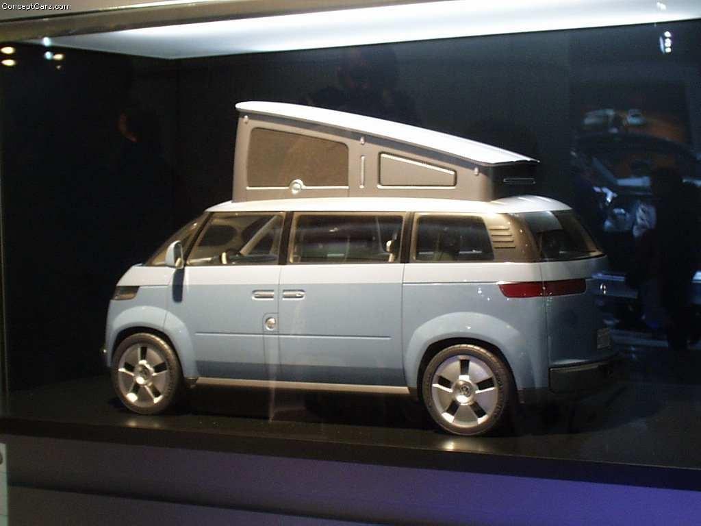 2001 Volkswagen Microbus Concept Image Photo 12 Of 19