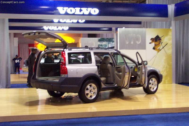 2002 Volvo V70 technical and mechanical specifications